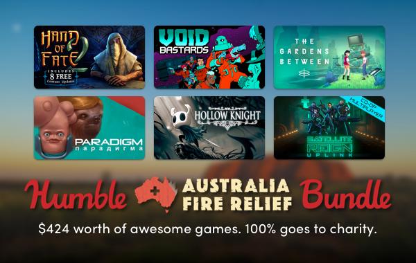 Humble Bundle — Australia Fire ReliefBundle